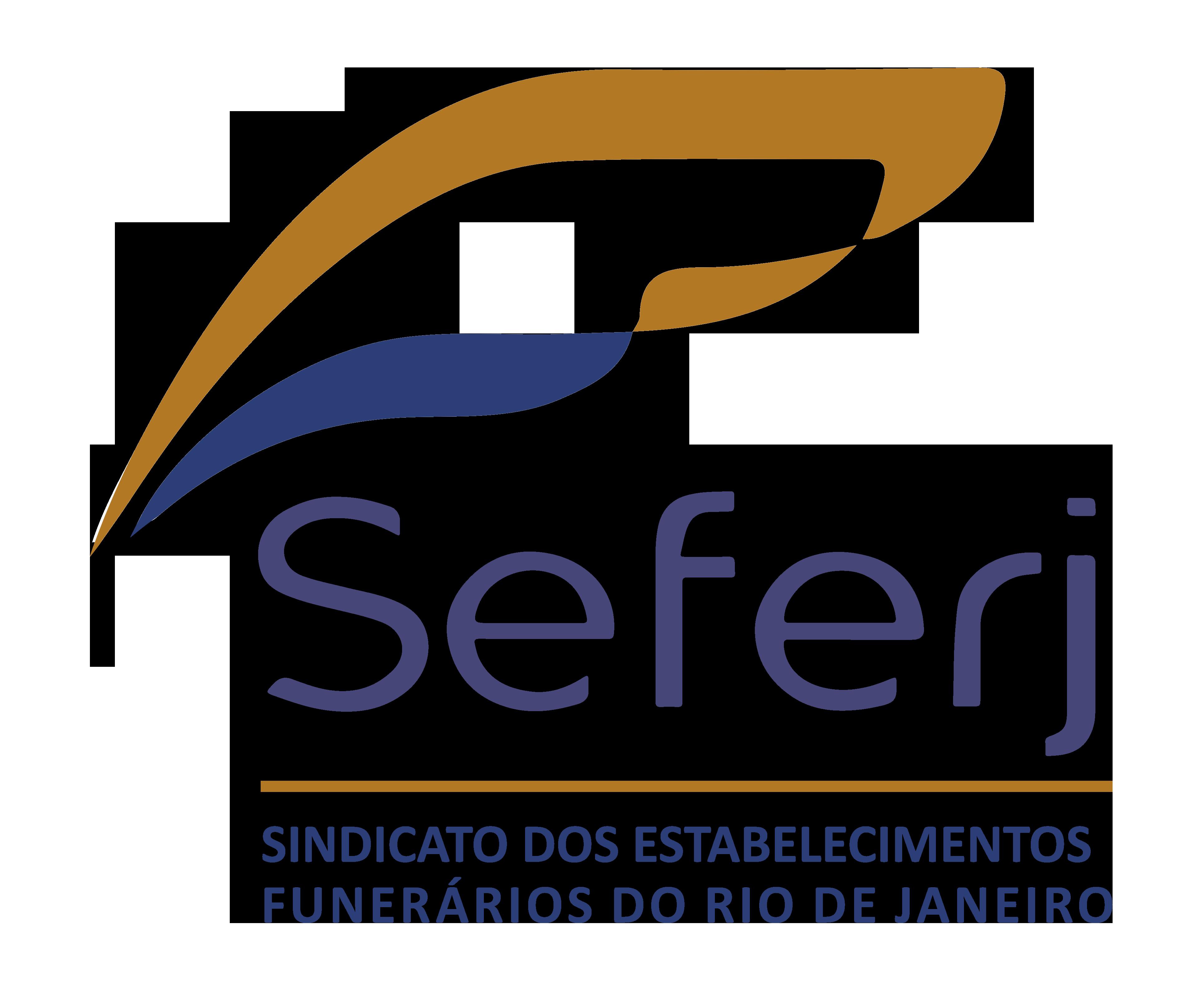 SEFERJ – Sindicato dos Estabelecimentos Funerários do Estado do Rio de Janeiro.